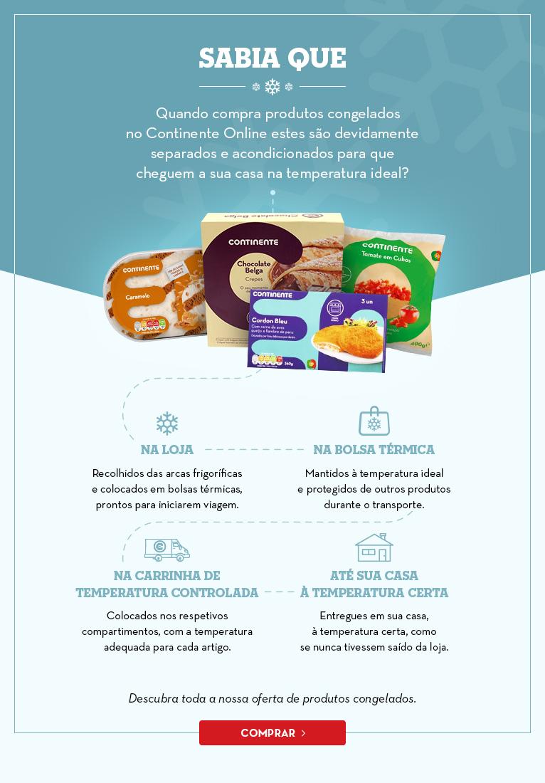 Tratamento de produtos conhelados - Continente Online