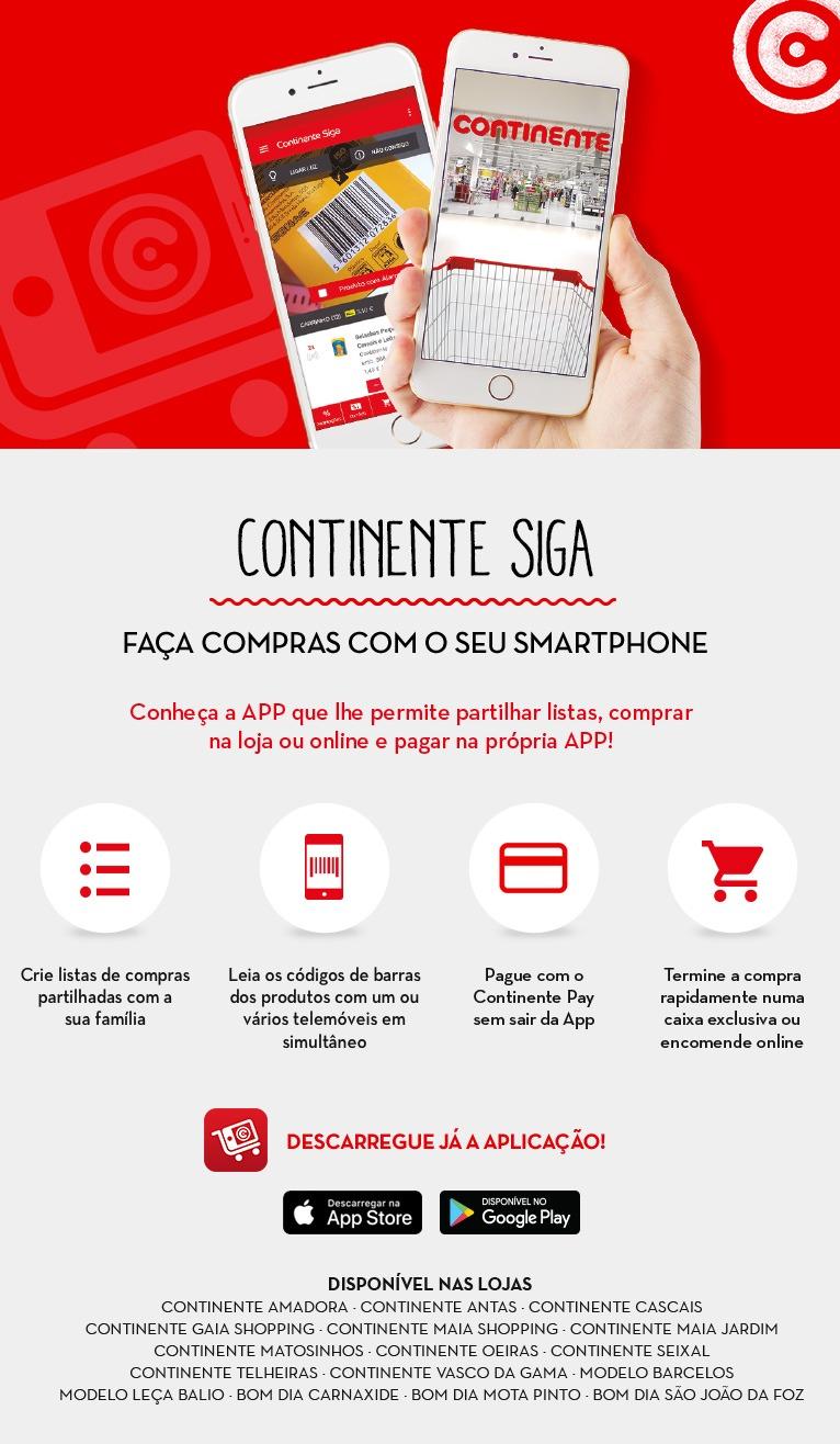 App Siga - Continente
