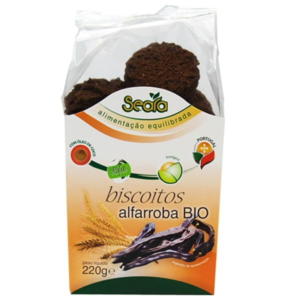 Biscoitos Alfarroba Biológicos Seara emb. 250 gr