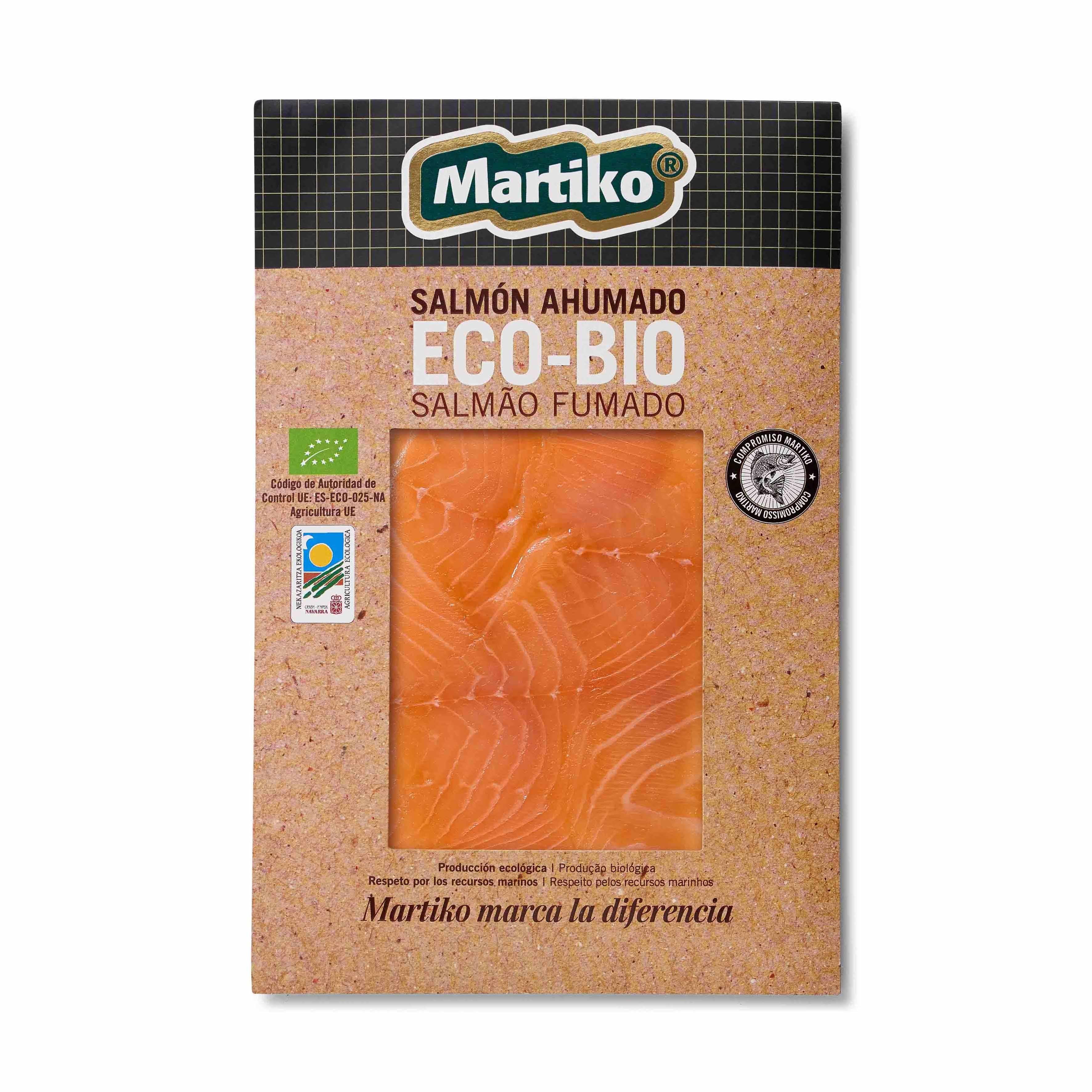 Salmão Fumado da Noruega Eco Bio Martiko emb. 80 gr