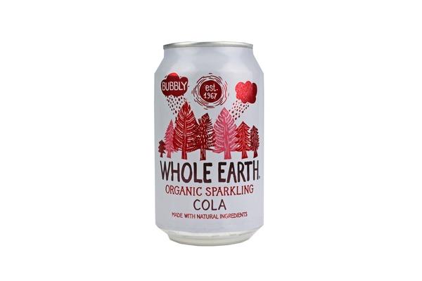Refrigerante Cola sem Açúcar Bio Whole Earth emb. 330 ml