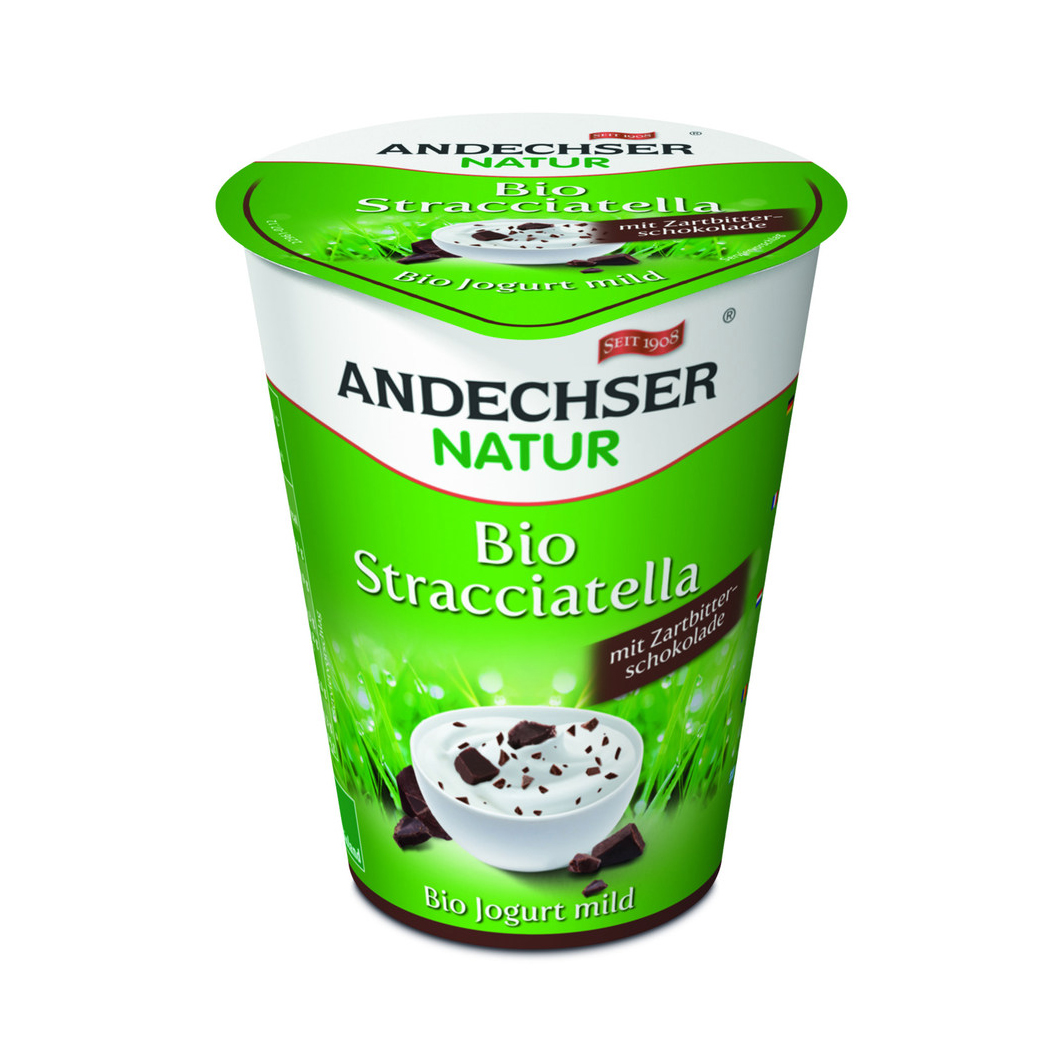 Iogurte Stracciatella Bio Andechser emb. 400 gr