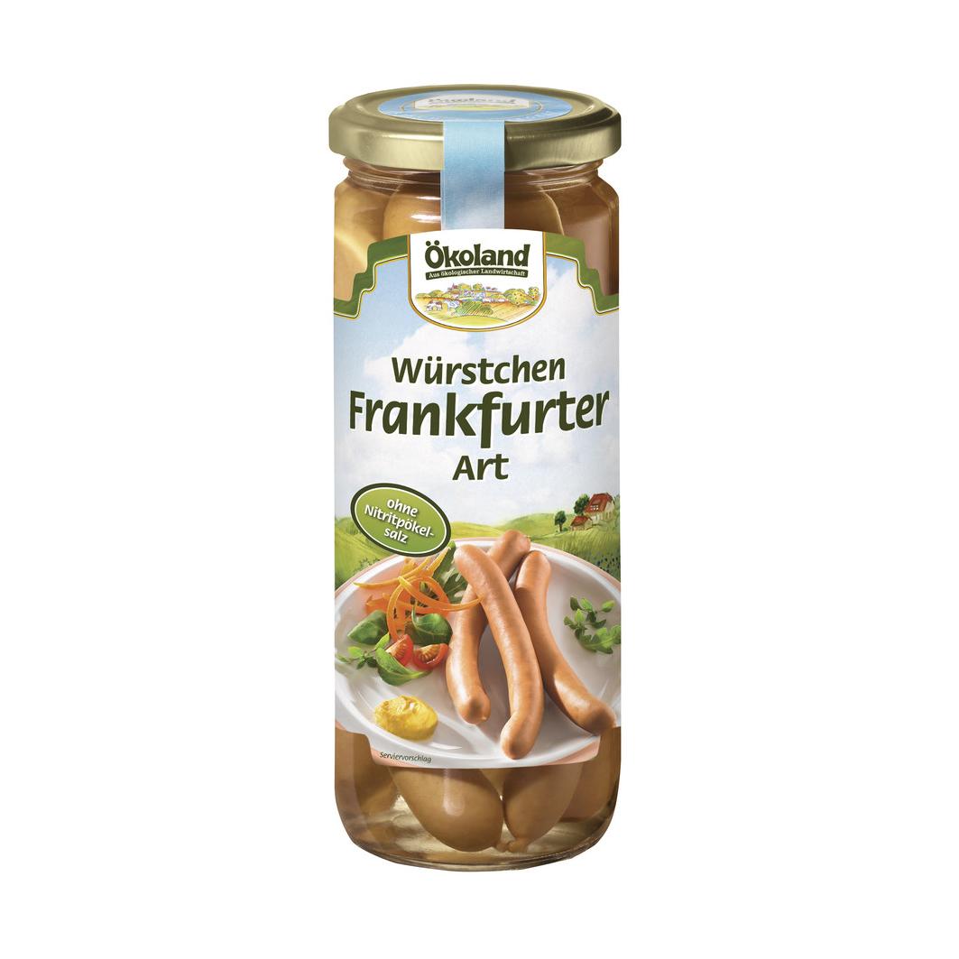 6 Salsichas Tipo Frankfurter Bio Okoland 250G