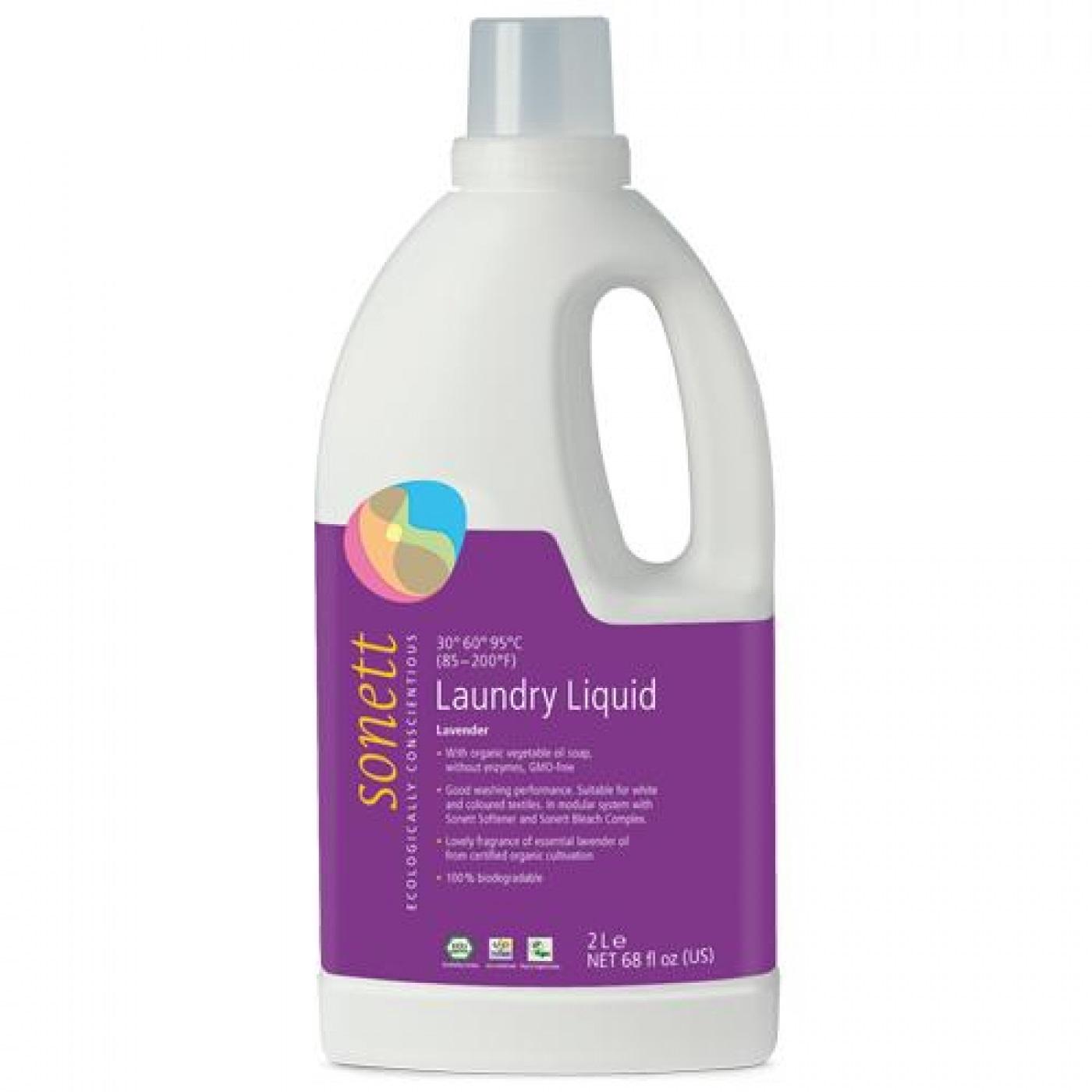 Detergente Liquido Sonett Bio 2l