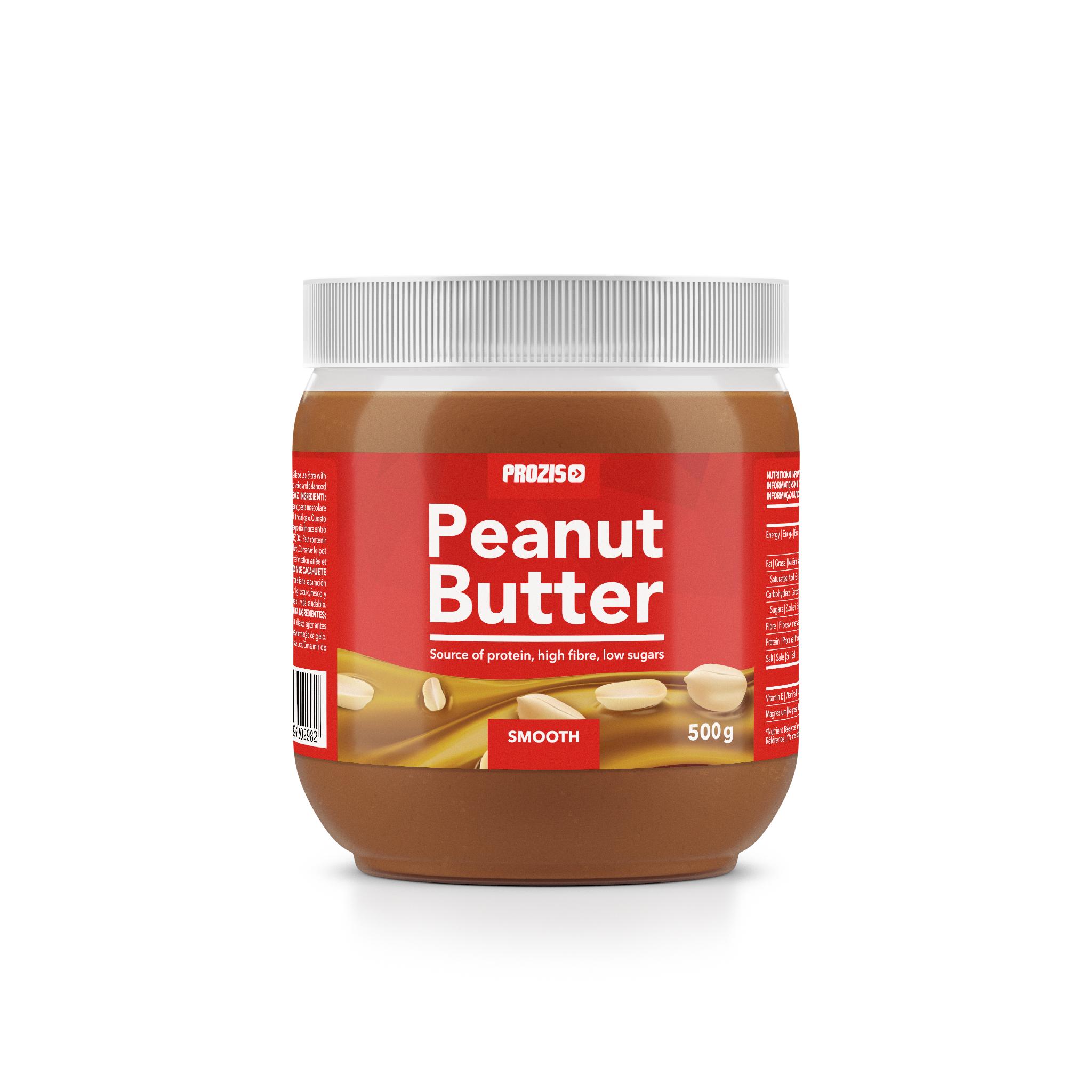 Manteiga de Amendoim Crocante Prozis emb. 500 gr