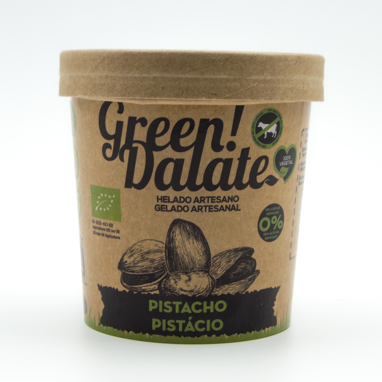Gelado Artesanal Pistácios Green Dalate emb. 350 ml