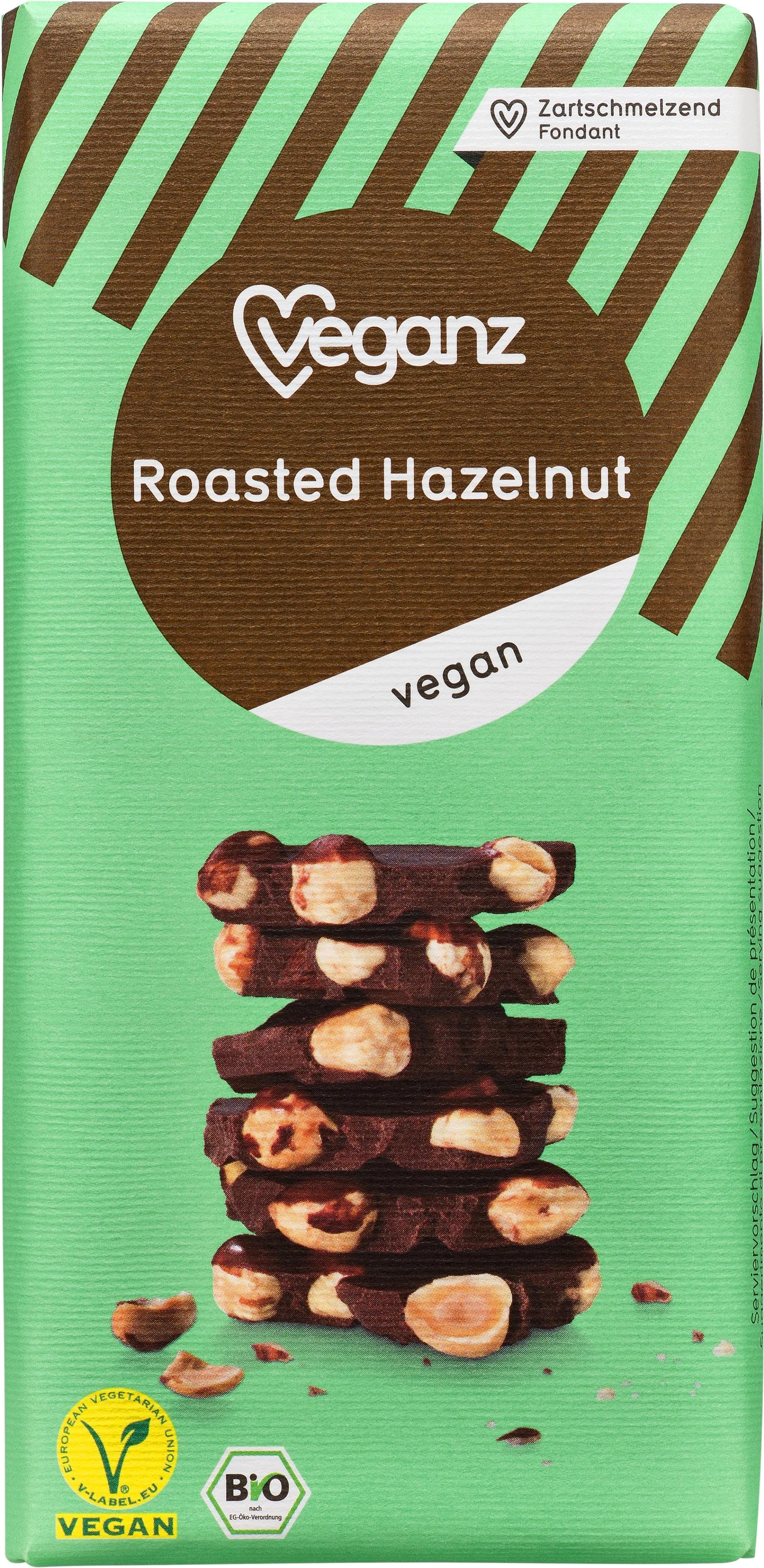 Chocolate Vegan Avelã Bio Veganz emb. 80 gr