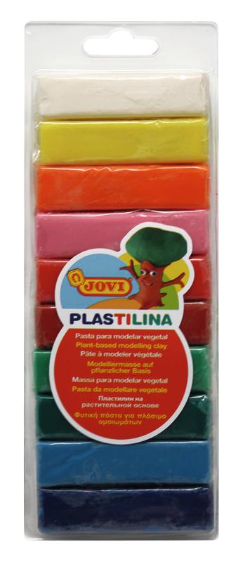 Plasticina 25gr 10unid Jovi