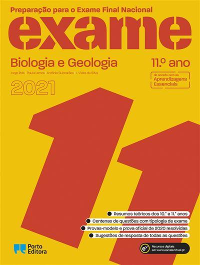 Preparação para o Exame Final Nacional 2021 - Biologia e Geologia 11º Ano