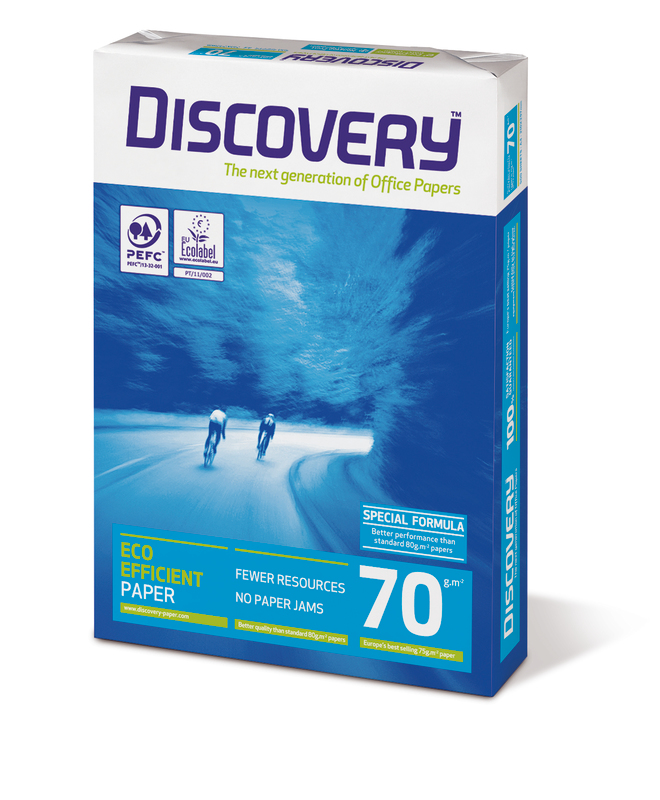 Resma de Papel A4 70gr 500 fls Discovery