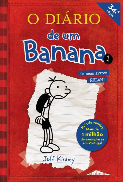 O Diário De Um Banana Um Romance Com Cartoons