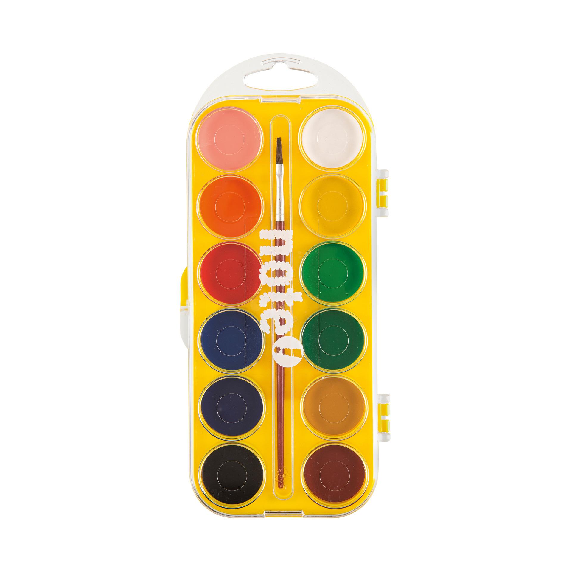 Conjunto aguarela 12 cores (marca Note!)