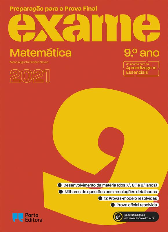 Preparação para a Prova Final 2020 - Matemática - 9º Ano