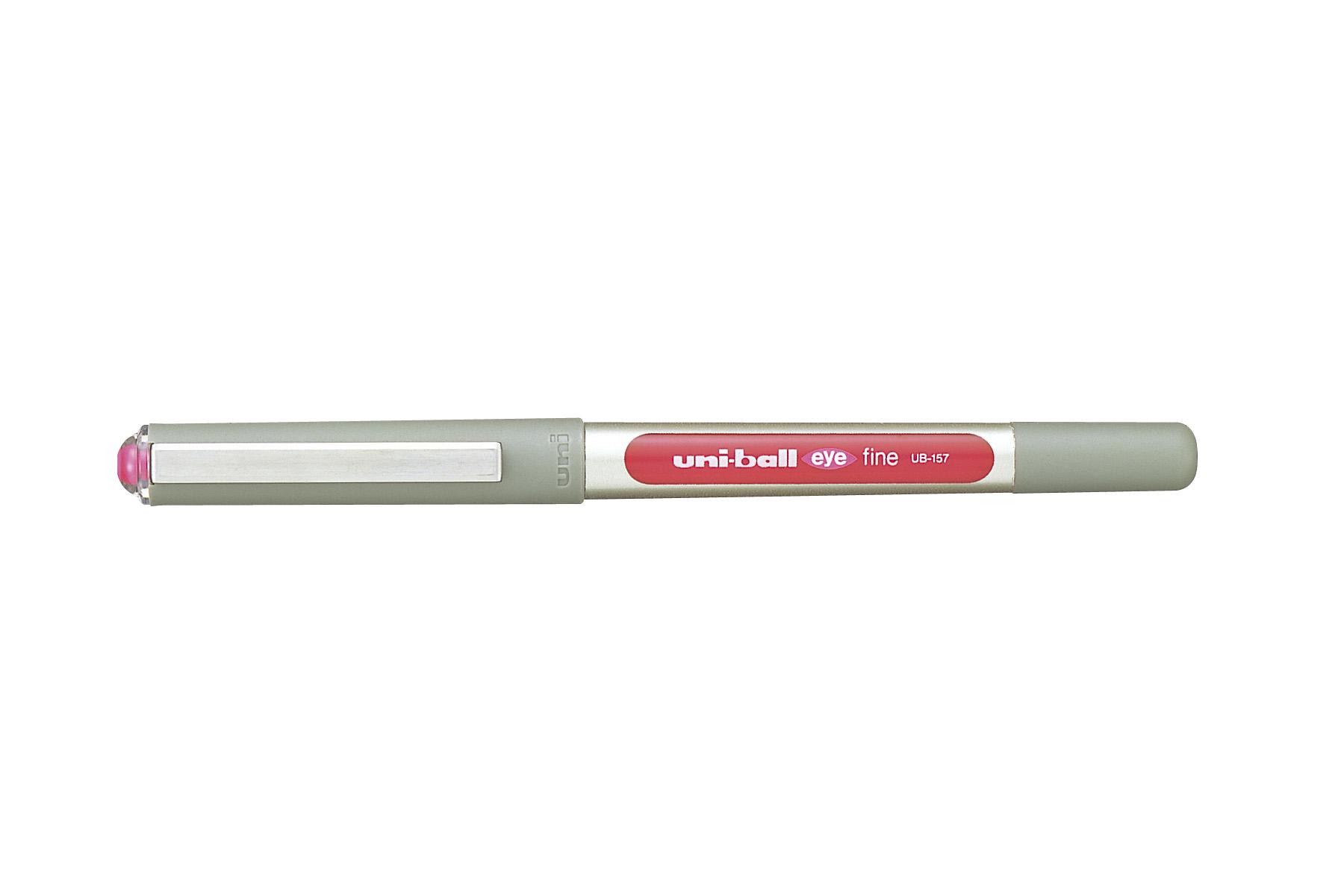 Esferográfica Roller Rosa - Uni Eye Fine
