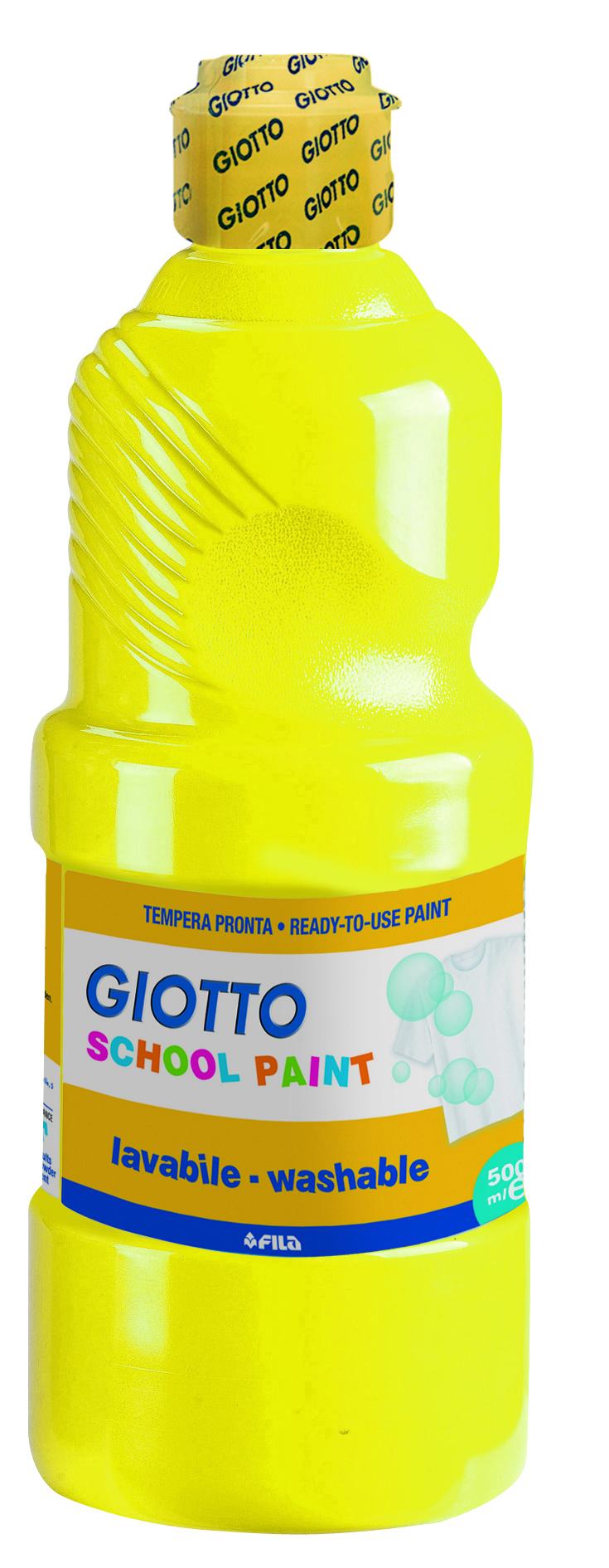 Guache Super Lavável School Paint Amarelo