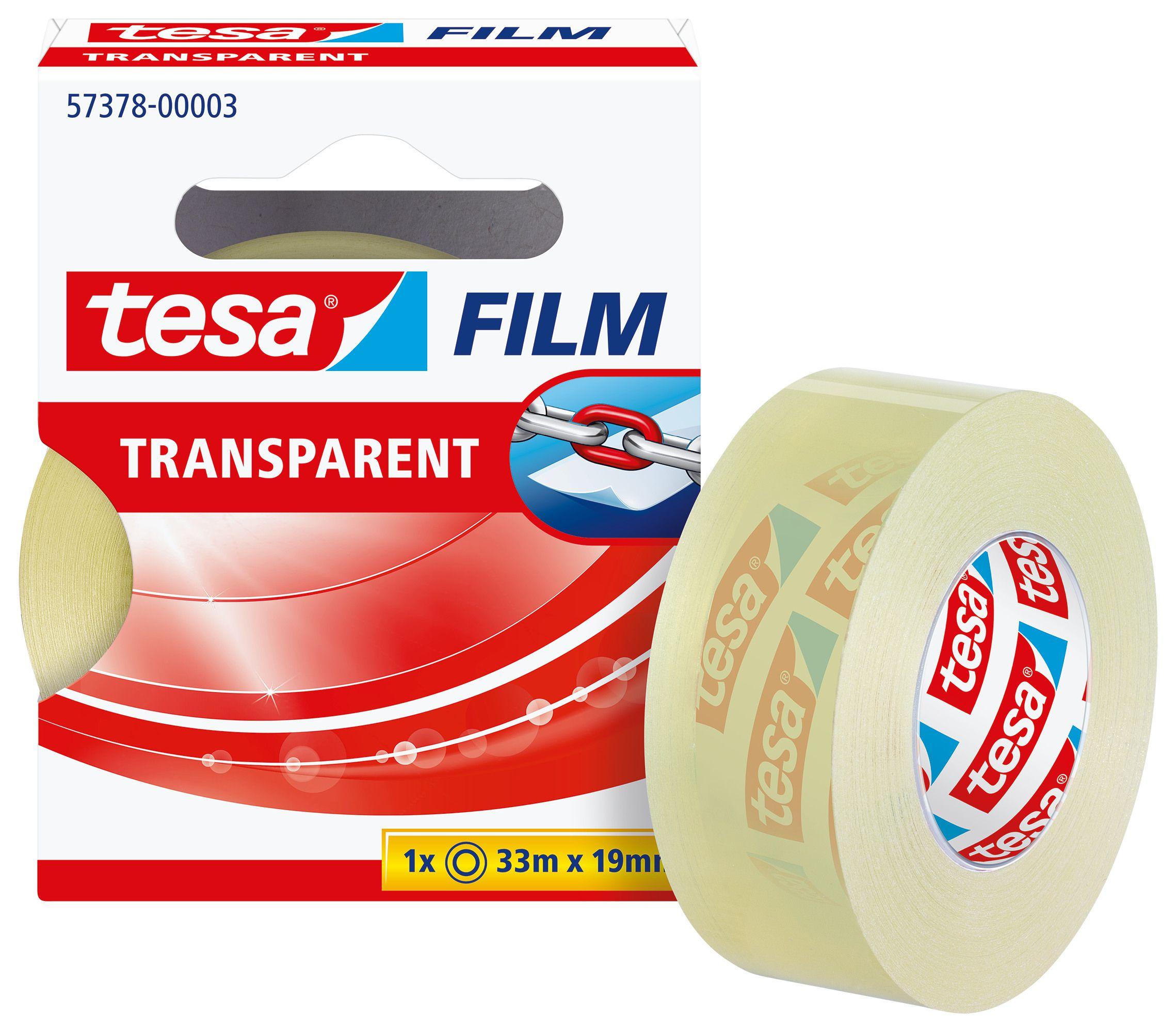 Fita Cola Transparente 10m*15mm Tesa