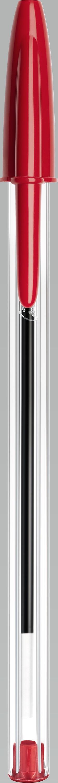 Esferográfica Vermelha - Bic Cristal