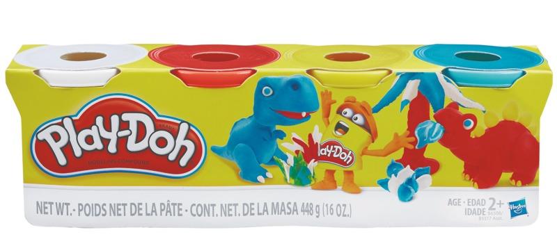 Play-Doh Conjunto de 4 Potes