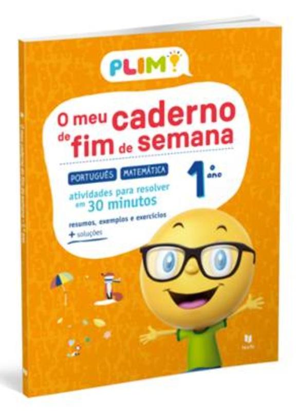 PLIM! o Meu Caderno de Fim de Semana 1.º Ano
