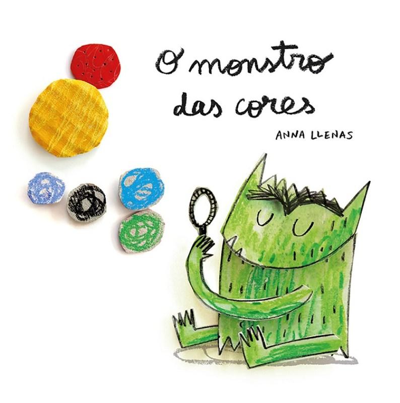 O Monstro Das Cores De Anna Llenas