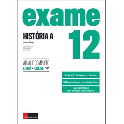 Exame História A 12.º Anode Avelino Ribeiro