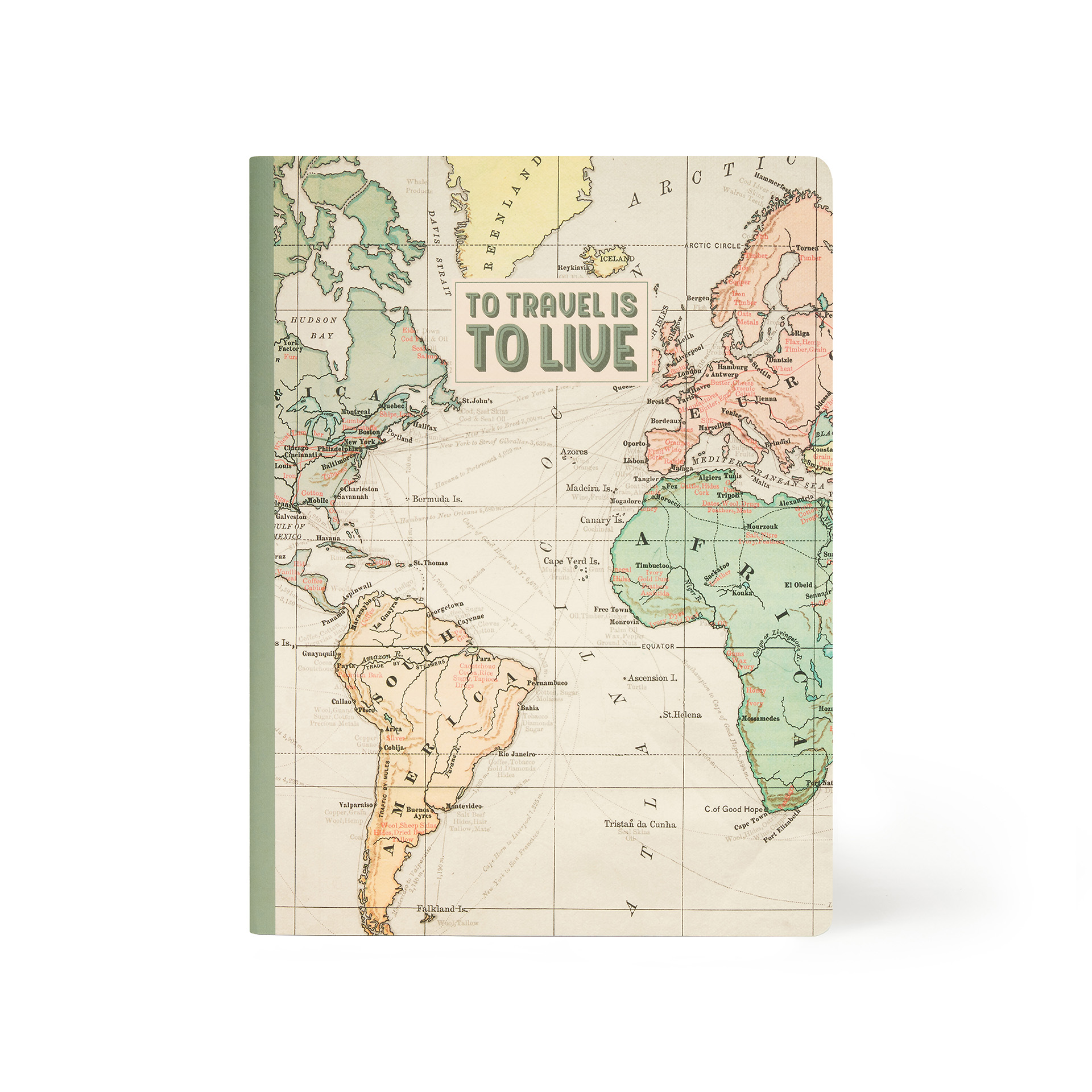 Caderno B5 Pequeno - Travel