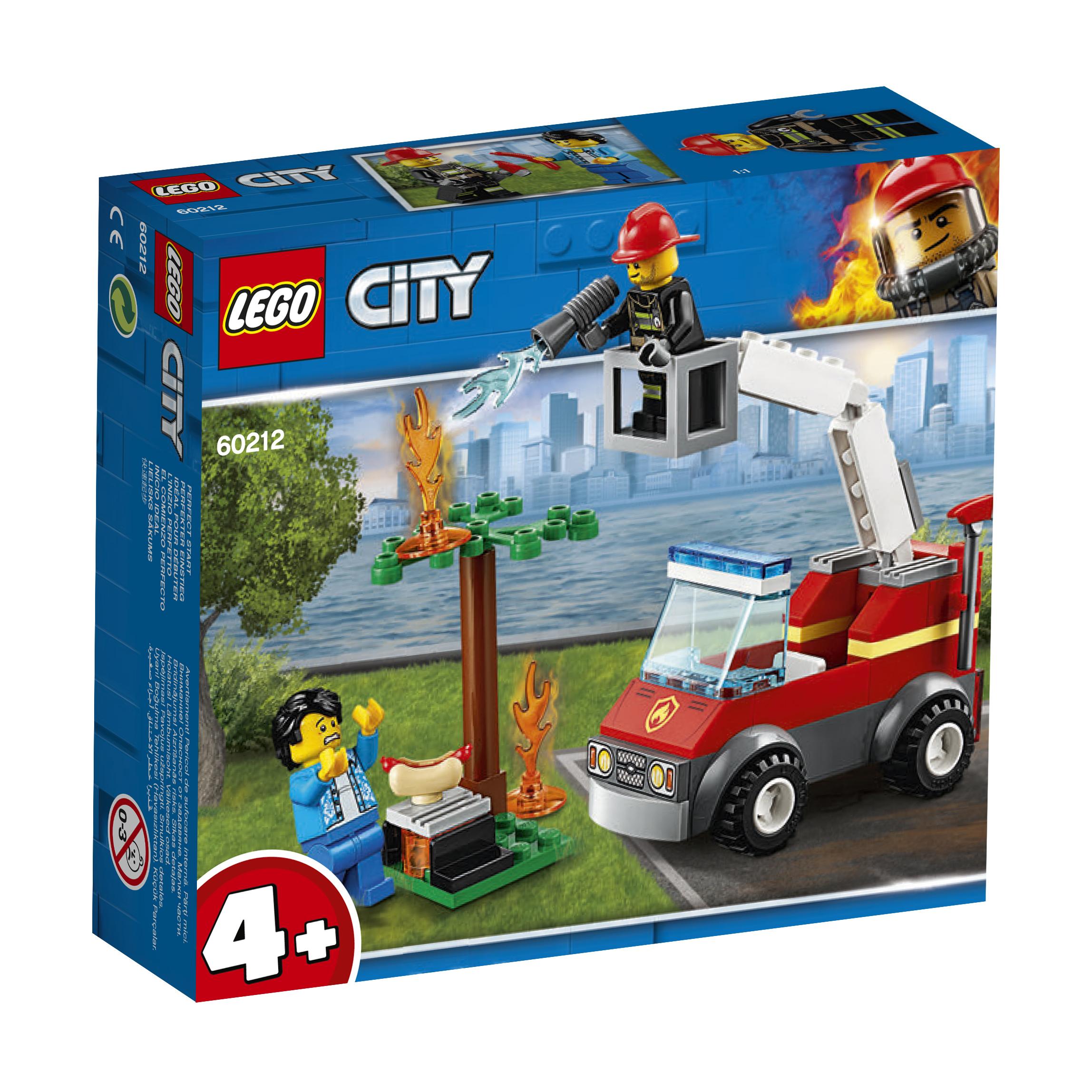Extinção De Fogo No Churrasco Lego-City
