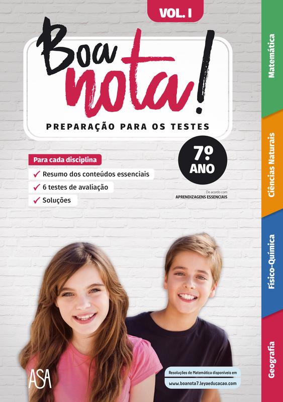 Boa Nota! Preparação para os Testes 7.º ano Vol 1