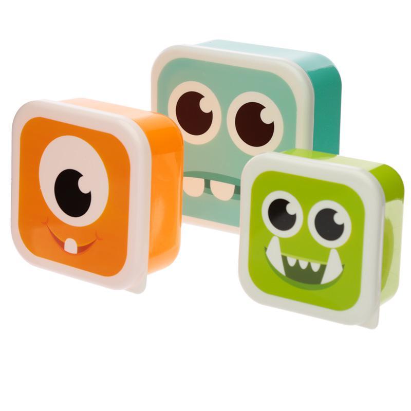 Cj. 3 Caixas para Lanche - Monster