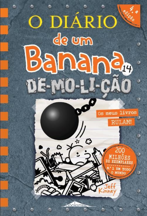 O Diário De Um Banana 14 de Jeff Kinney
