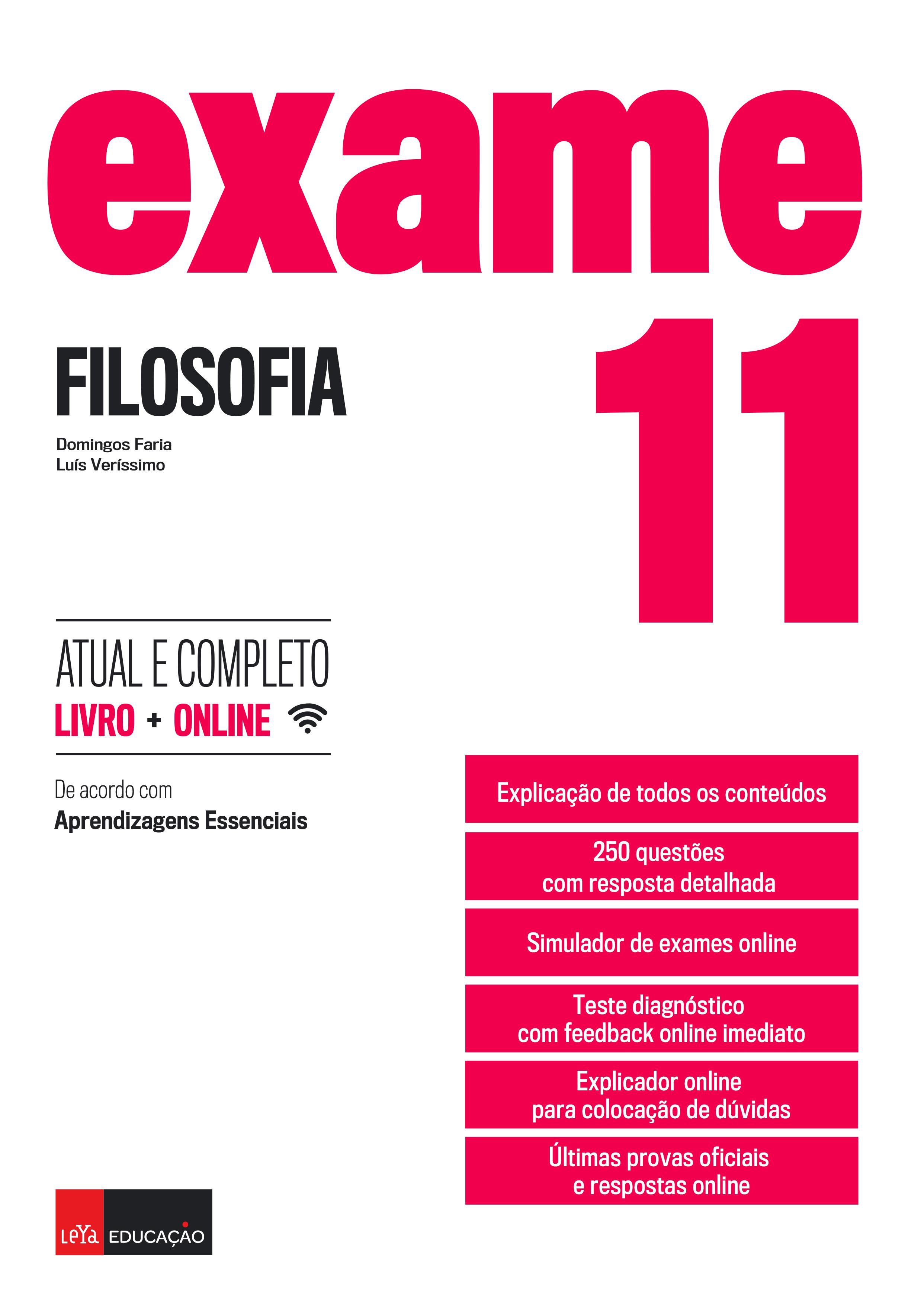 Exame Filosofia 11.º Anode Domingos Faria e Luís Veríssimo