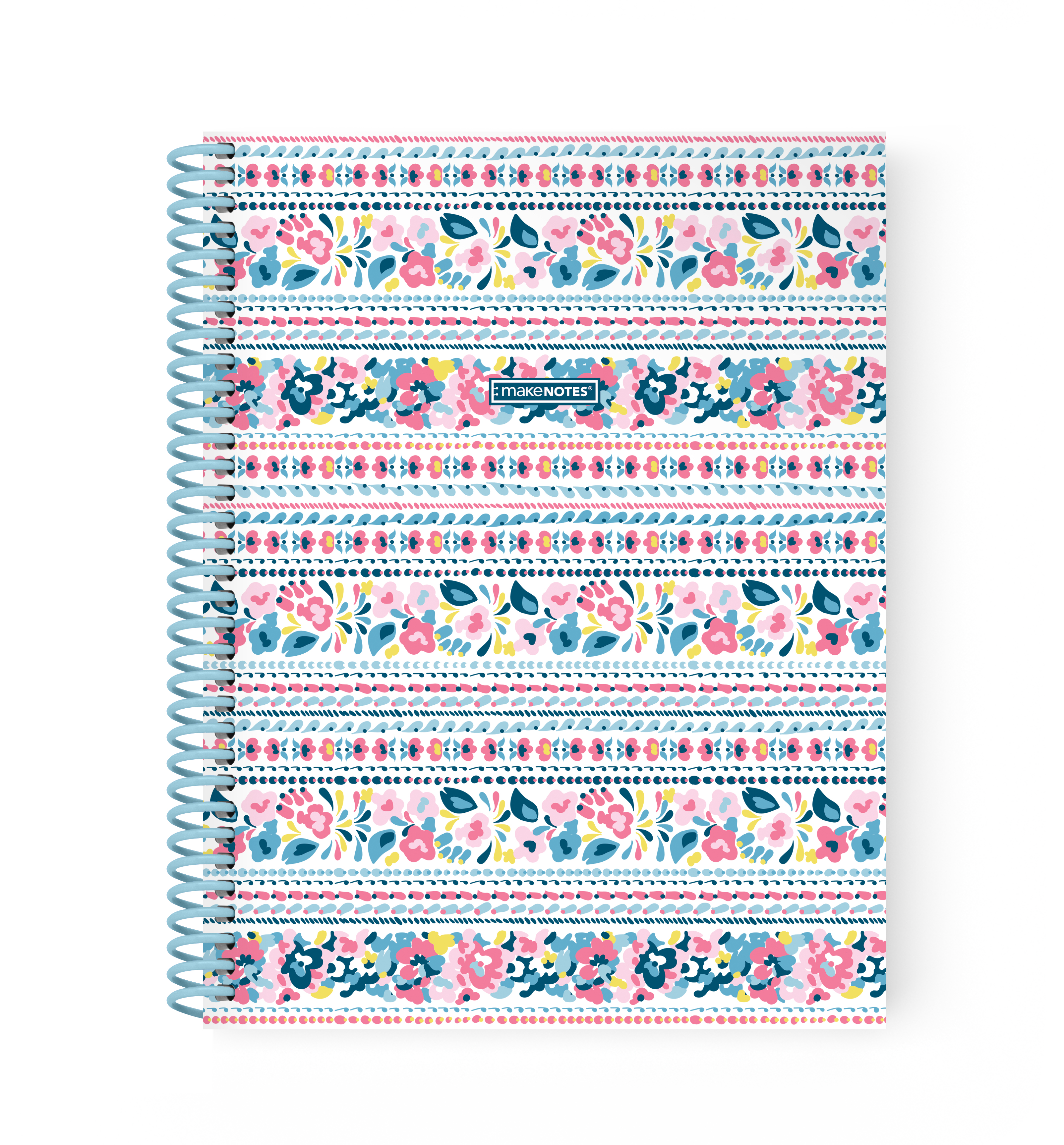 Caderno Espiral A5 Pautado - Coleção Bluebell
