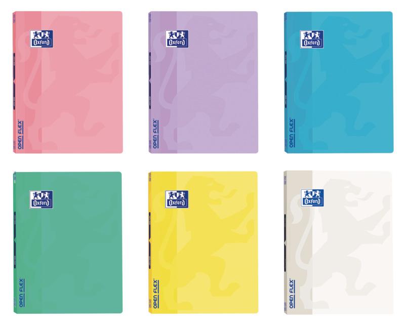Caderno Agrafado A4 Openflex Pautado 48Fls 90G Pastel (artigo sortido)