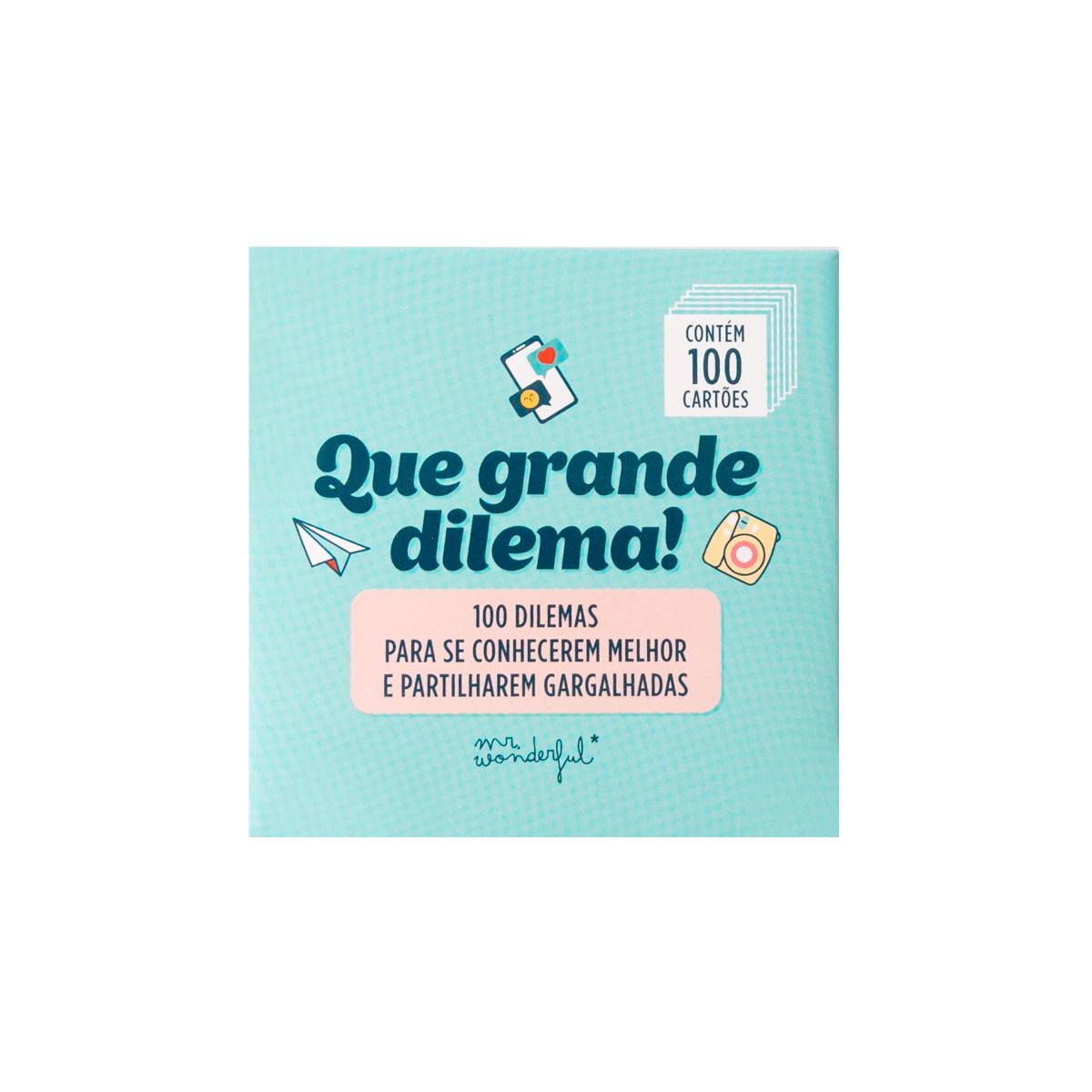 Jogo De Cartas - 100 Dilemas Super