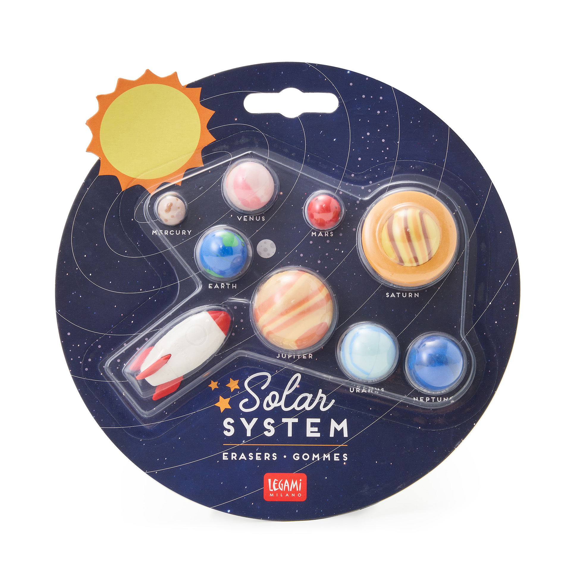 Conjunto 9 Borrachas - Solar System