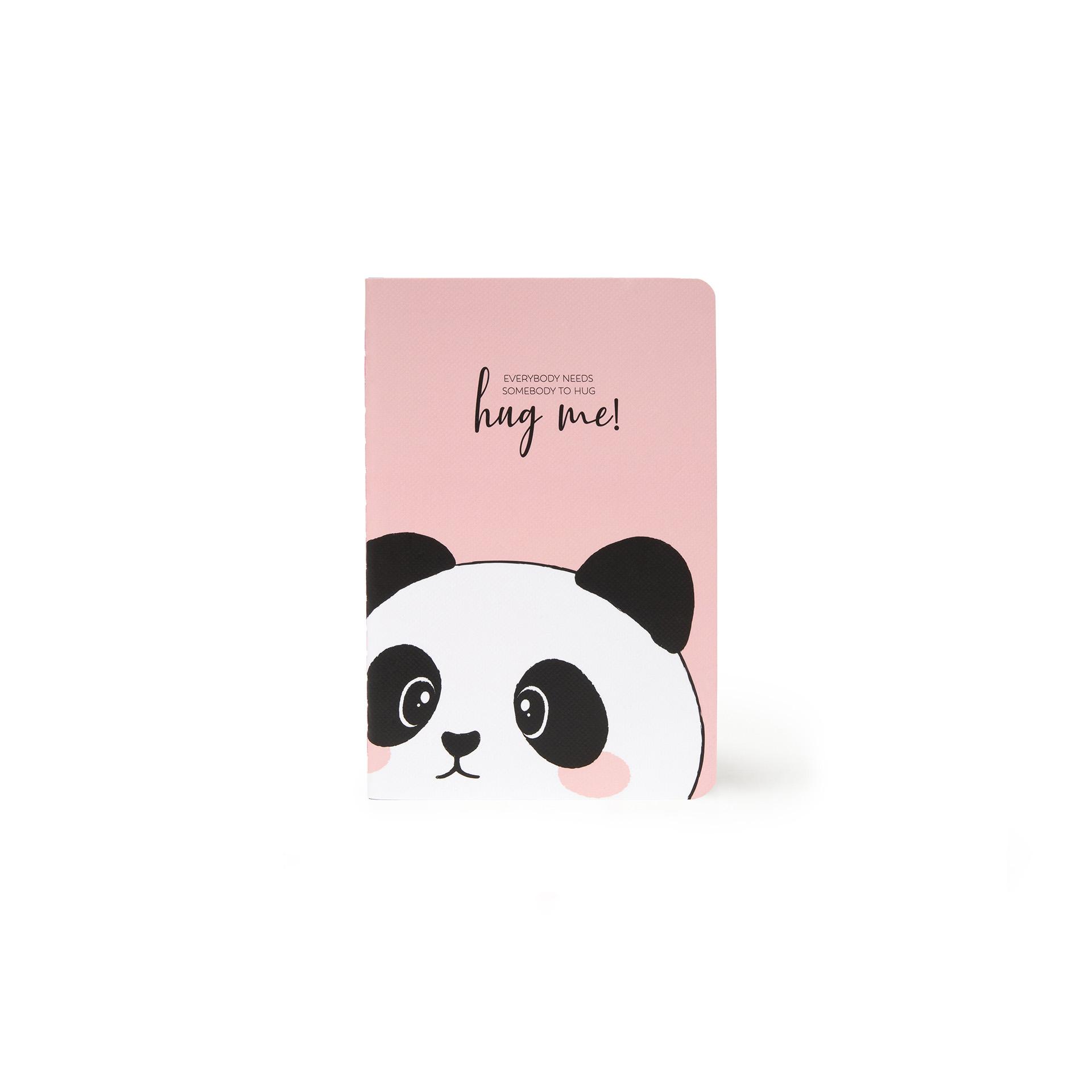 Caderno A6 - Panda