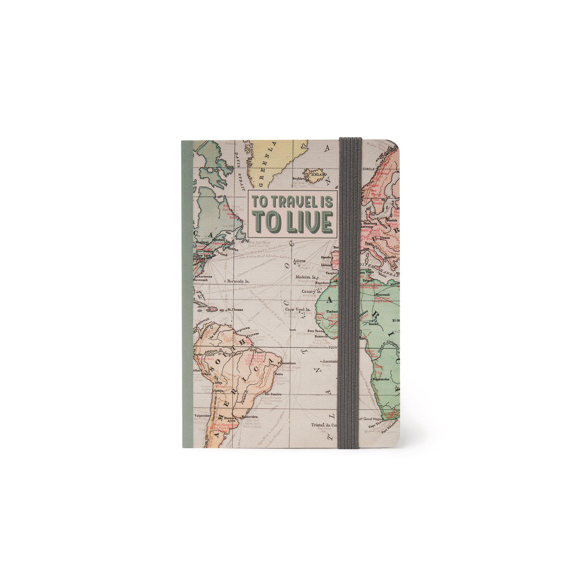 Caderno Pequeno - Travel