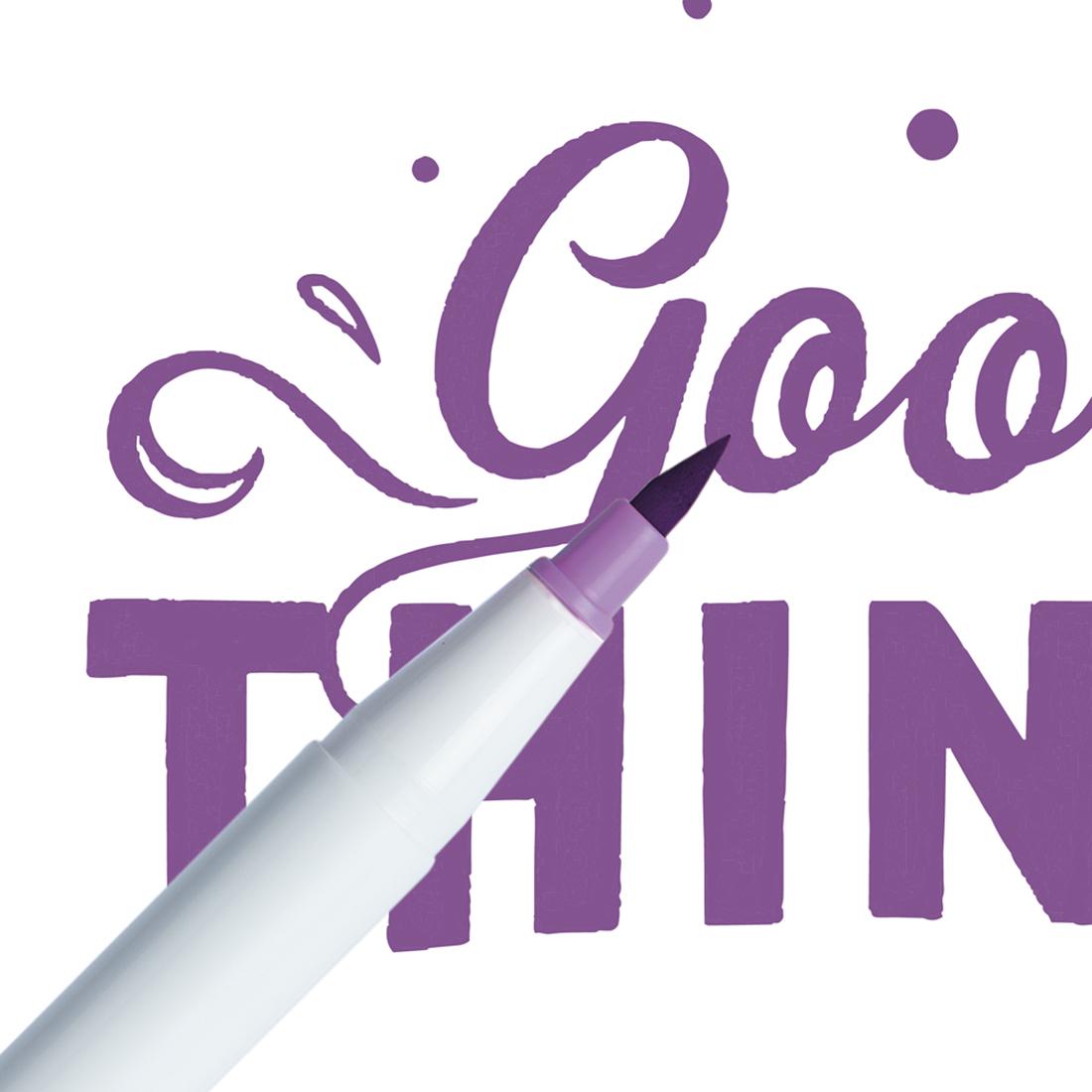 Marcador Ginza Pro Brush Pen Lilas