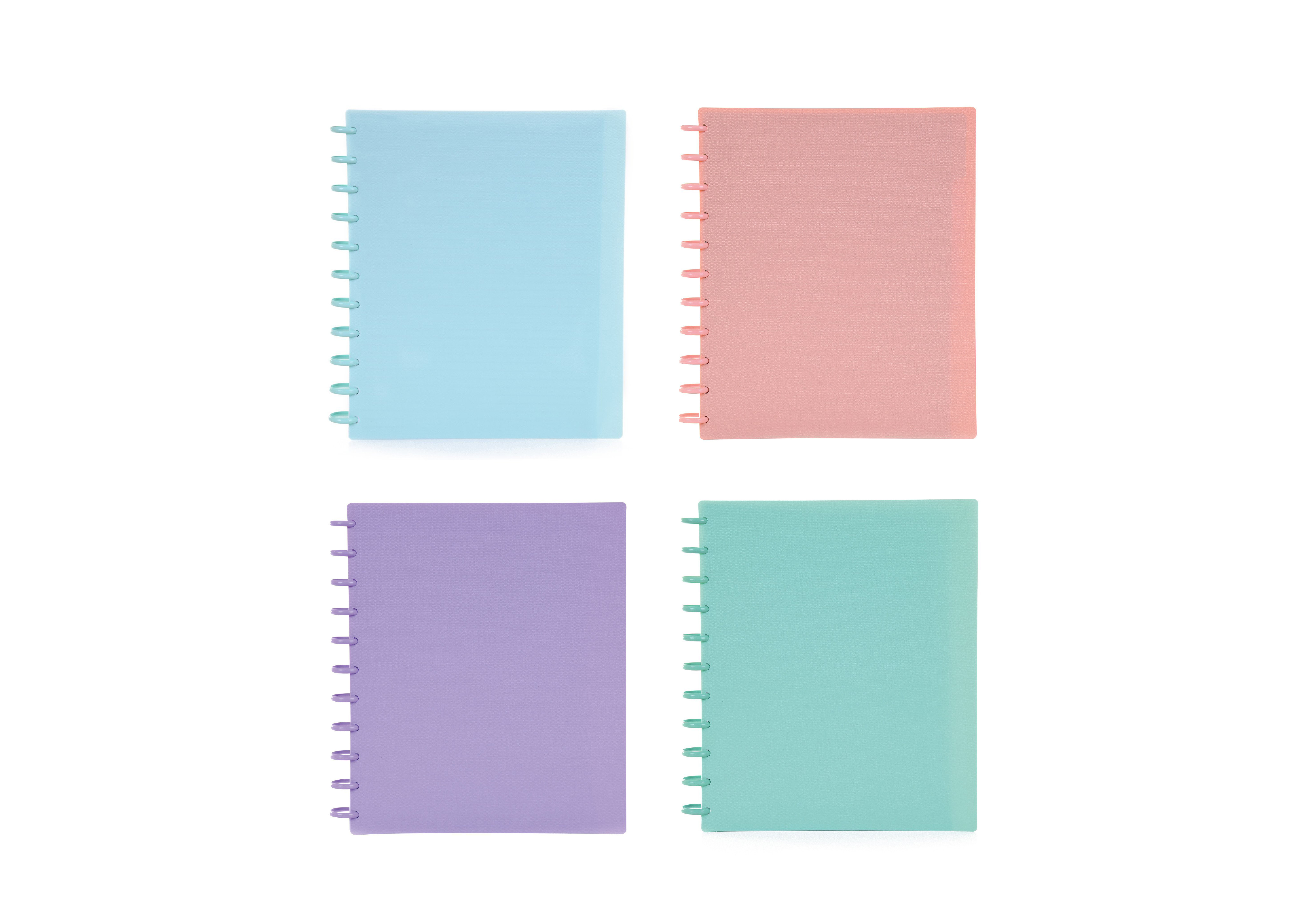 Caderno Inteligente Smart Talia Espiral A4 Pautado 100 Folhas Pastel (Artigo Sortido)