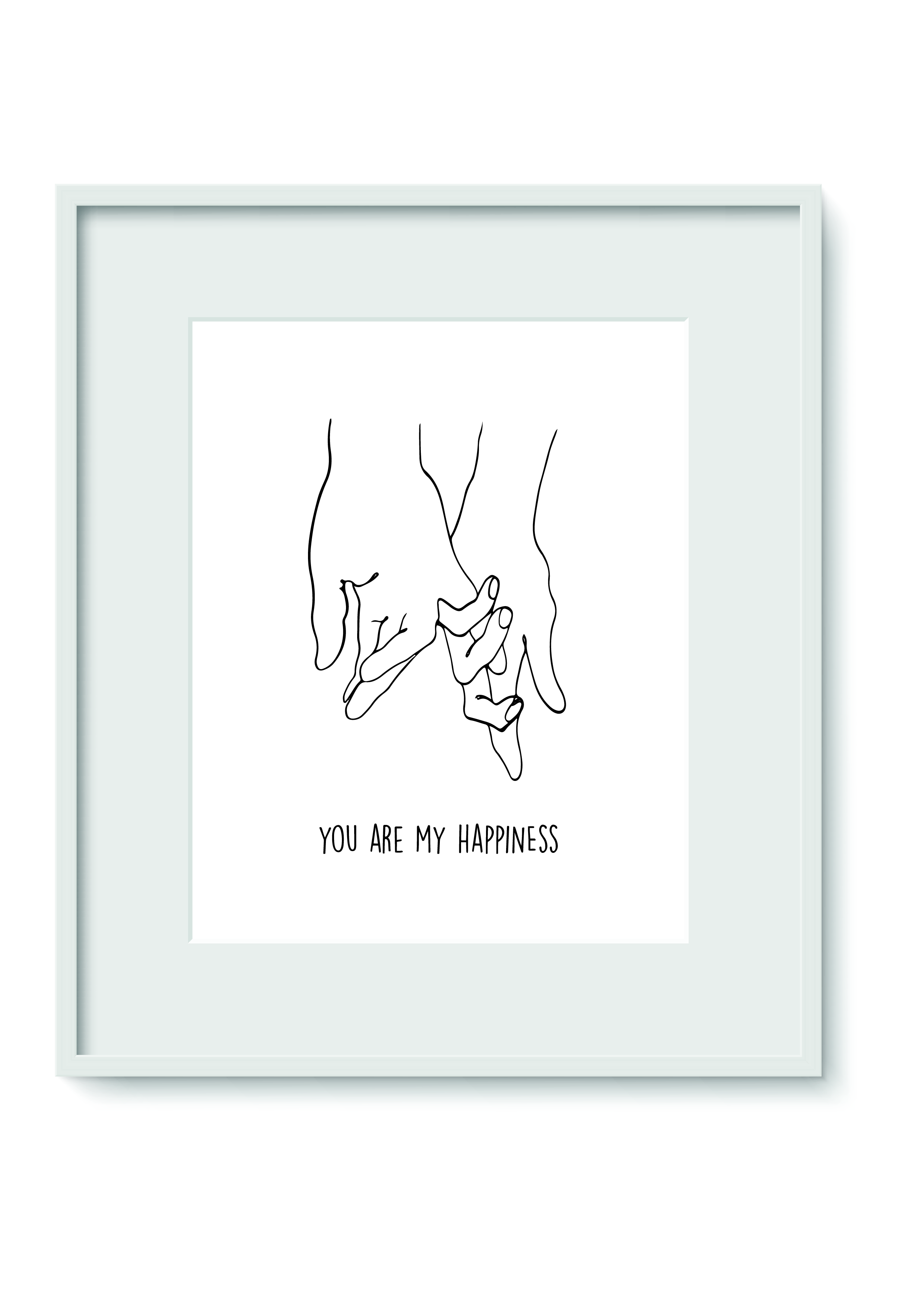 """Quadro - """"You are my happiness"""""""