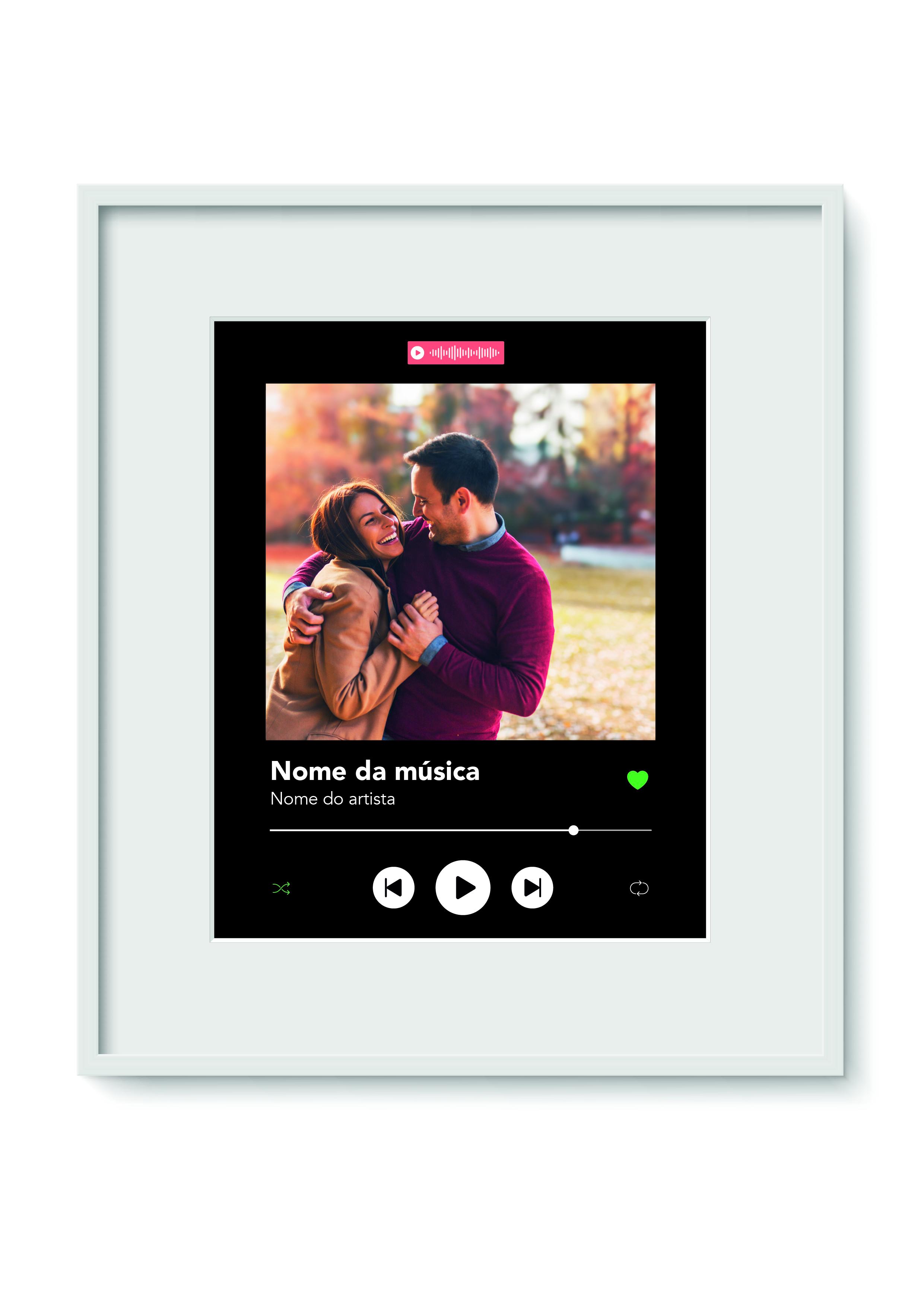 Quadro Personalizável - Spotify
