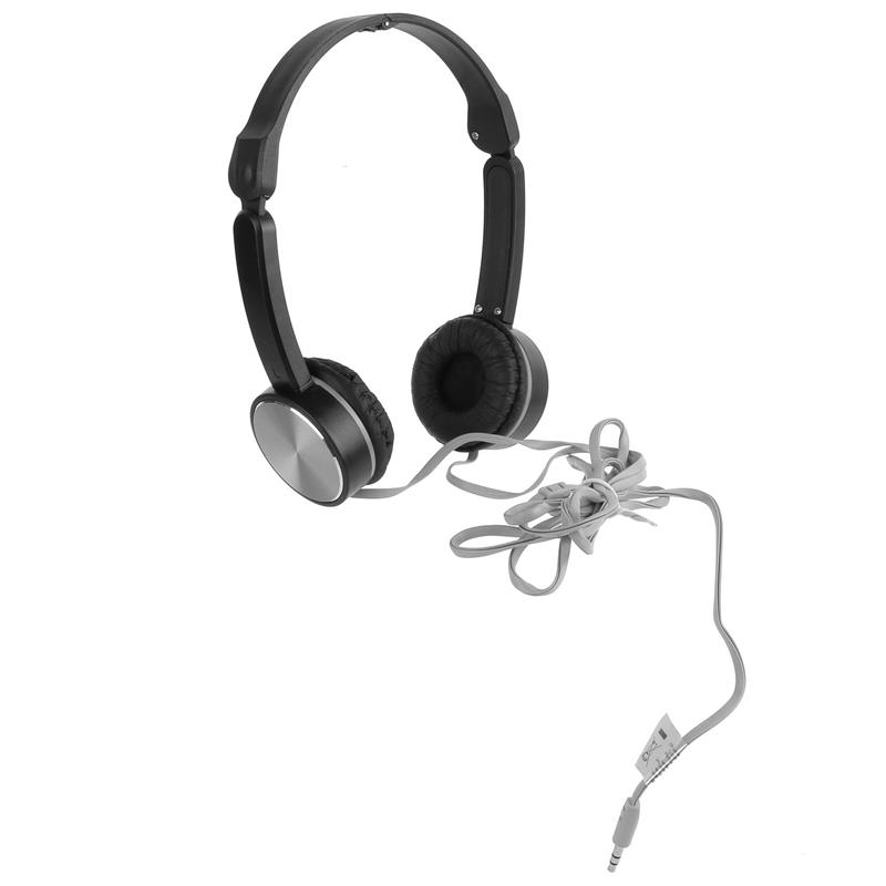 Headphones Preto e Cinza