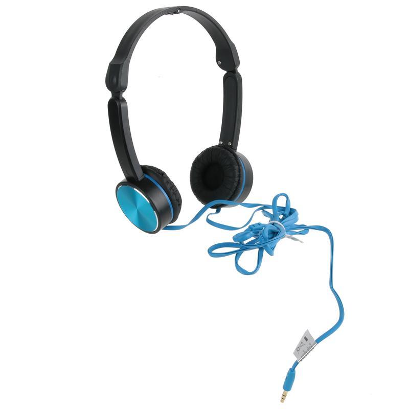 Headphones Preto e Azul