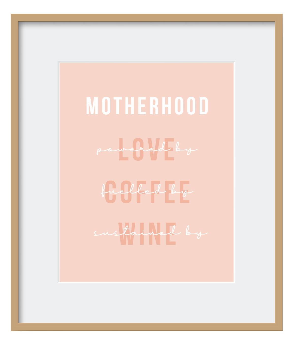 "Quadro - ""Motherhood"""