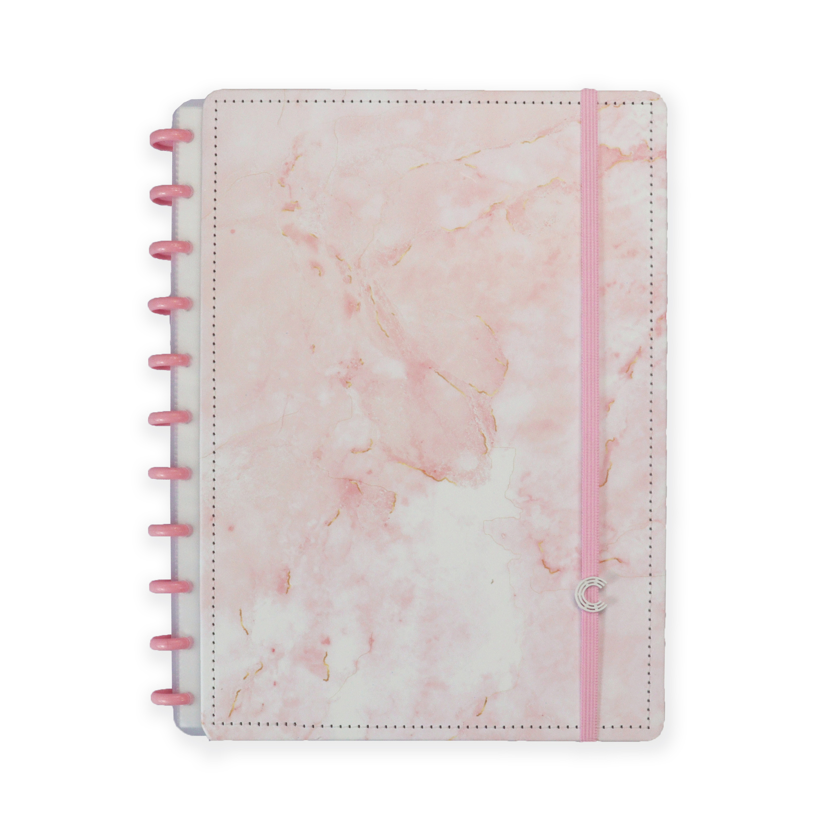 Caderno A4 Pink Marble Dream By Owhana