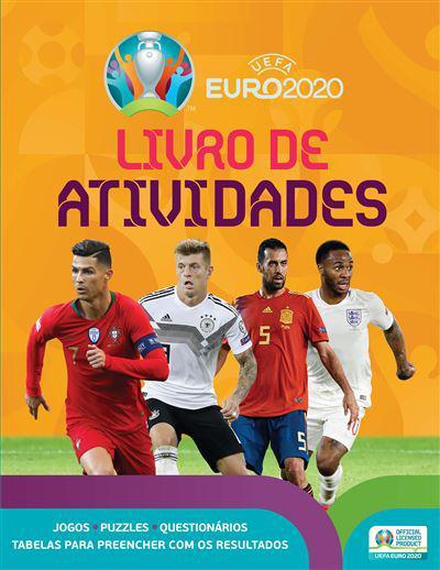 Uefa Euro 2020 Kids Livro De Atividades
