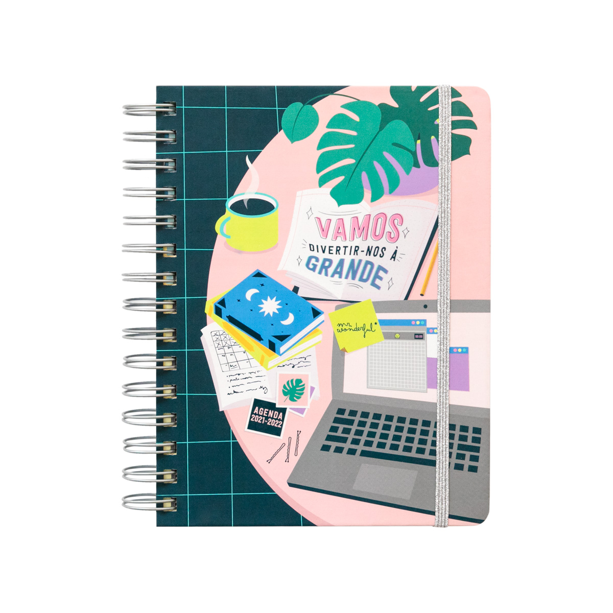 Agenda Sketch 21/22 Diária A5 - Vamos Divertir-nos À Grande