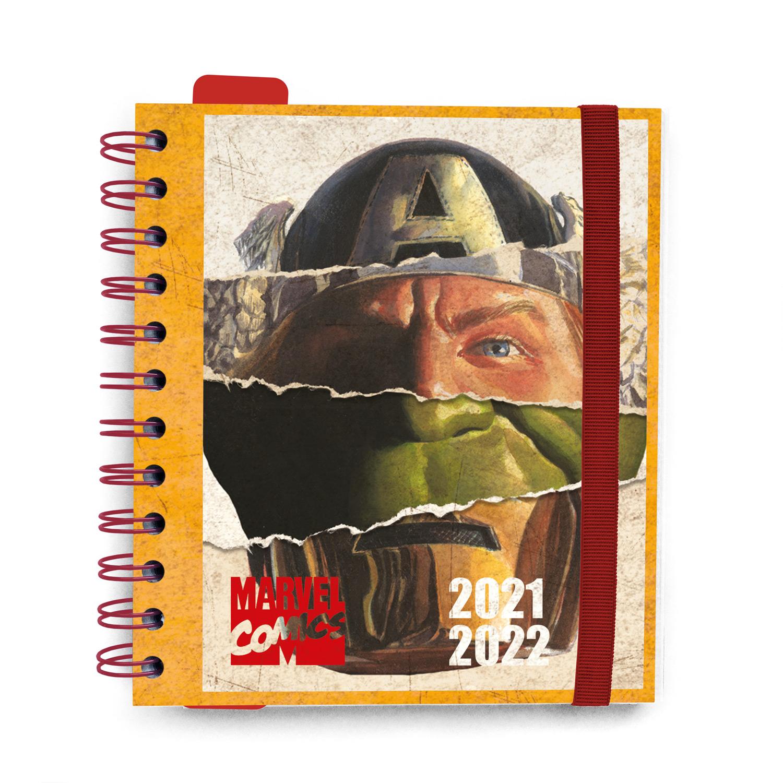 Agenda 21/22 Diária 11 Meses Marvel Classic