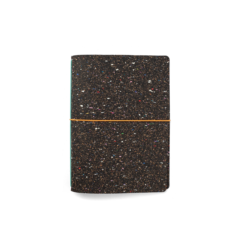Caderno A5 Pautado Recarrega Com Cortiça Reciclado