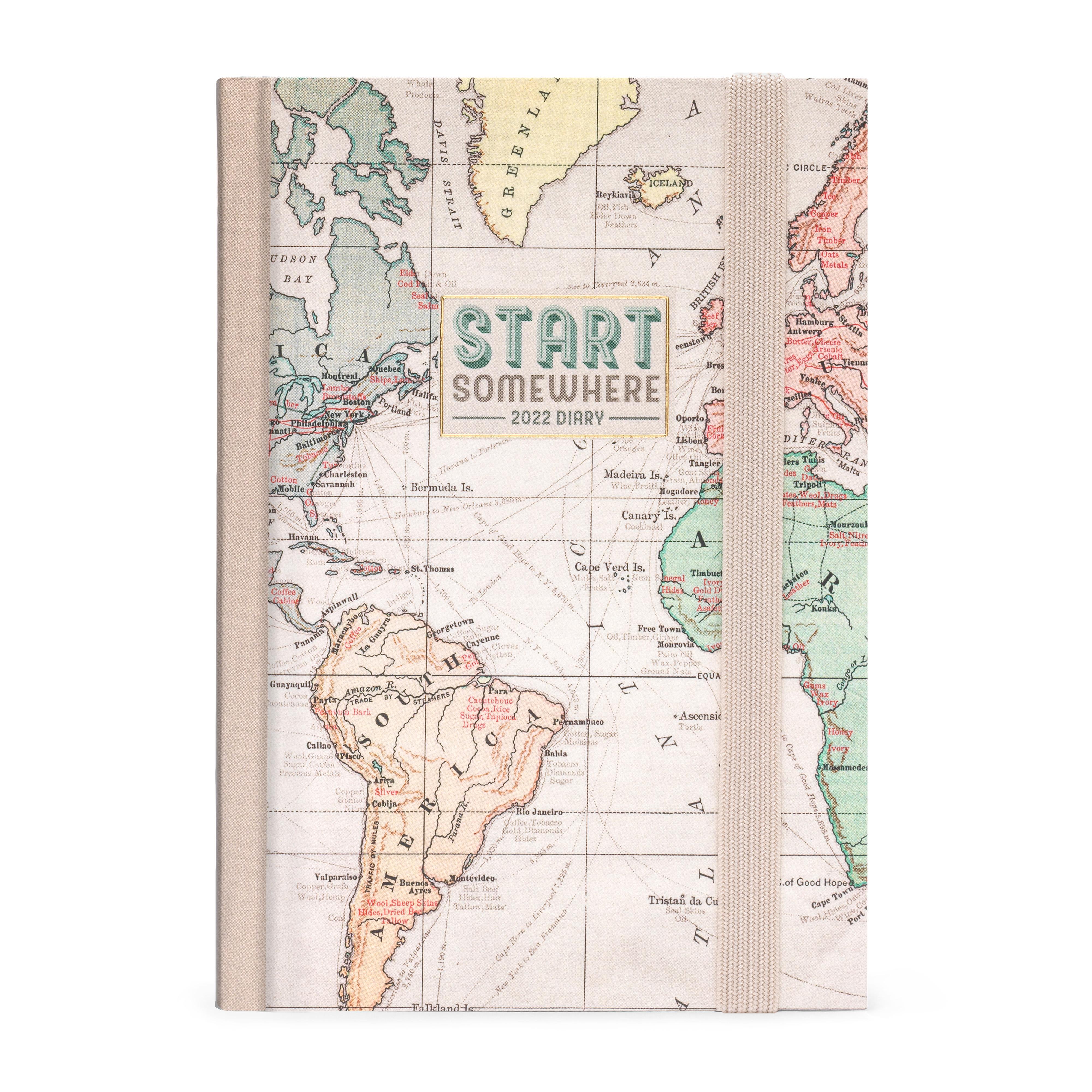 Agenda 2022 Semanal 12 Meses Pequena Travel